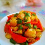 度娘菜园和厨房干锅菜花的做法