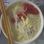 rosy23西红柿鸡蛋汤面的做法
