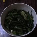 茄冰的茶蒜炒油麦菜的做法