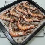 ★洛雨·晴缘☆意式盐焗大虾的做法