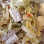 zuoshan酸菜炖白肉的做法