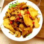 ๓๓  安生  ☀(来自腾讯.)酸辣土豆片的做法
