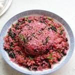 zsy120026362苋菜炒饭的做法