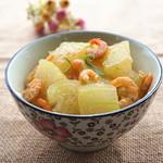 甜盐蜜语海米冬瓜的做法