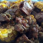 no坦然红烧排骨炖玉米的做法
