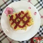 yoyo2213277简易版煎饼果子的做法