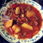 琦(来自腾讯.)无油番茄炖牛肉的做法