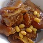 甜-甜清炖猪蹄的做法