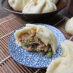 0西葫芦0豇豆猪肉包的做法