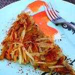 菜菜食坊麻辣土豆丝饼的做法