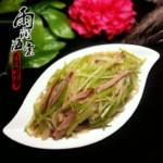 雨润海棠炒三丝的做法