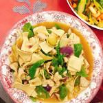 邱诺尖椒干豆腐的做法