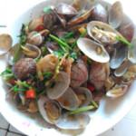 考拉小厨葱油花蛤的做法