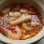 小阿蒙年糕大酱汤的做法