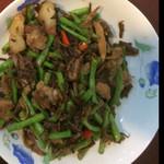 LiveThePeace梅干菜炒豇豆的做法