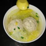 杰米0680573371豆腐丸子汤的做法