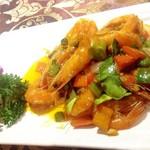 杰米4522320咖喱虾的做法