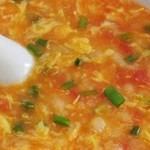 杰米4522320西红柿鸡蛋疙瘩汤的做法