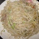 杰米4522320麻汁豆芽菜的做法