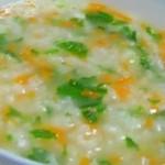 杰米4522320芹菜香菇虾米粥的做法