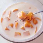 芸格格椰汁芒果西米露的做法