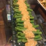 Elaine9025蒜蓉麻酱拌豇豆的做法