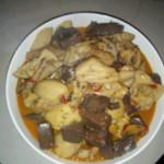 《记忆深处》豆腐猪血熬白菜的做法