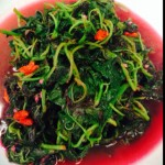 Christina7513枸杞绿米苋的做法