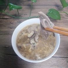 香菇猪肝汤