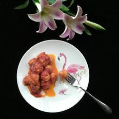 霸王超市丨茄汁鸡胸球