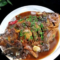 红烧昌扁鱼