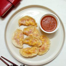 番茄鸡蛋水饺