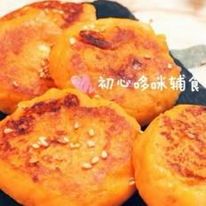 宝宝辅食:奶酪黄金糕