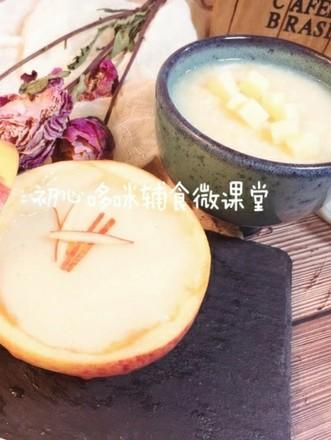 宝宝辅食:山药小米苹果糊的做法