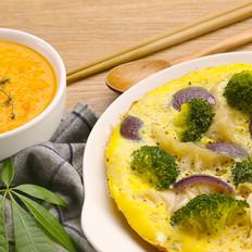 蔬菜抱蛋煎饺|太阳猫早餐