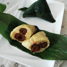 黄米红枣粽子