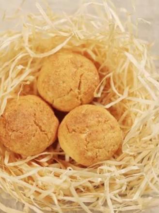 有了这些好吃的黄金椰蓉球,宝贝春节旅途不寂寞的做法