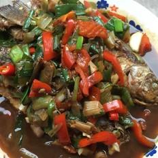 藿香红烧鱼