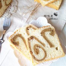 抹茶蛋糕卷面包