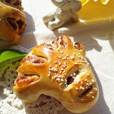 小虎爪面包