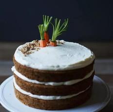 生姜奶油芝士糖霜胡萝卜蛋糕
