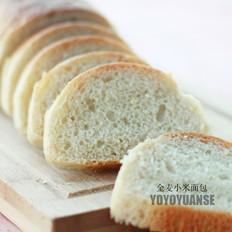 健康无油无糖——全麦小米面包