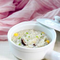 香菇玉米燕麦粥
