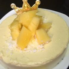 自制美食,重点是酸奶芒果芝士