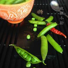 盐水豌豆荚