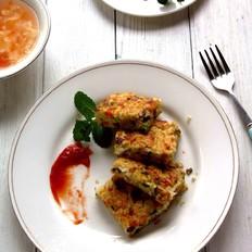 蛋香米饼#早餐#