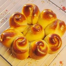 紫薯花样面包