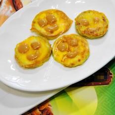 花生酱西葫芦蛋饼