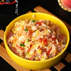 番茄炒米饭