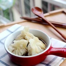 猪肉白菜香菇饺子